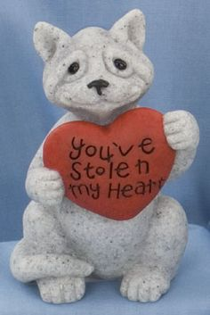 quarry critters collectibles | You've Stolen my Heart - Cat
