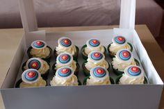 Vanilla Cupcakes with Vanilla SMB