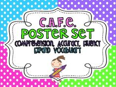 You can use these posters to create your own CAFE board! I have also made matching Daily 5 posters!Make sure that you don't miss any FREEBIES! Yo...