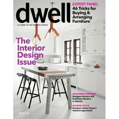 2 Yrs of Dwell Magazine : $9.98 (reg. $39.90) http://www.mybargainbuddy.com/2-yrs-of-dwell-magazine-9-98