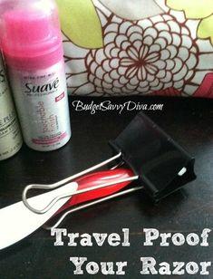 How to Travel-Proof your Razor