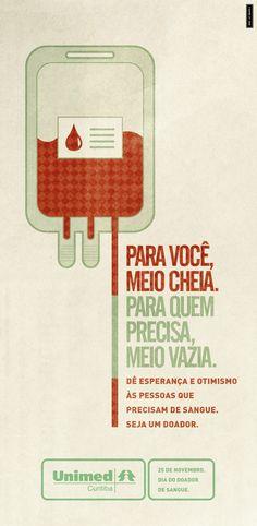 Dia do Doador de Sangue.