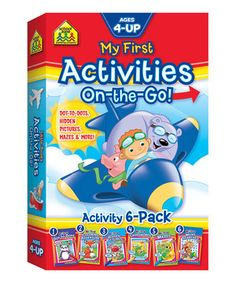 Another great find on #zulily! My First Activities On-the-Go Book Set by School Zone #zulilyfinds
