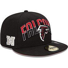 Men's New Era Atlanta Falcons 2013 Draft 59FIFTY® Structured Fitted Hat - NFLShop.com