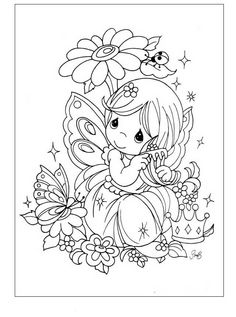 coloring page Precious moments on Kids-n-Fun. Coloring pages of Precious moments on Kids-n-Fun. More than coloring pages. At Kids-n-Fun you will always find the nicest coloring pages first! Free Printable Coloring Pages, Coloring For Kids, Coloring Pages For Kids, Coloring Sheets, Coloring Books, Free Printables, Paper Embroidery, Embroidery Patterns, Precious Moments Coloring Pages