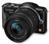 Panasonic Lumix DMC-GF3 12 MP Micro 4/3 Compact System Camera with 3-Inch Touchscreen LCD and 14-42mm Zoom Lens (Black)