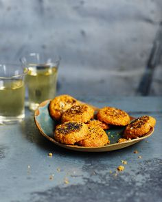 These savoury biscuits, flavoured with parmesan, spices and poppy seeds, are perfect for serving with a cheeseboard.