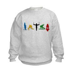 Men's Gymnastics Kids Sweatshirt