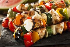 chicken shish kabobs in the oven