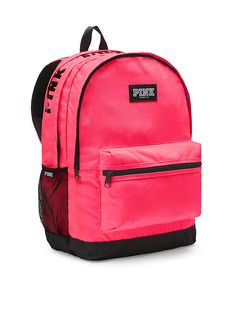 Shop backpacks for school at PINK to find the perfect bag that can handle it all! Shop the selection of cute backpacks & bookbags today. Stylish Backpacks, Cute Backpacks, School Backpacks, Victoria Secret Rosa, Pink Accessories, Neon, Handbags On Sale, Victoria's Secret Pink, School Supplies