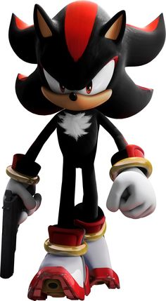 shadow the hedgehog | everyone will respects me now because i have this