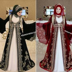 Dress Long Prom Night Hijab Shalwar Mod - Dress Long Prom N Tesettür Şalvar Modelleri 2020 Modest Fashion, Hijab Fashion, Fashion Dresses, Muslim Girls, Muslim Women, Prom Night Dress, Simple Hijab, Hijab Stile, The Dress