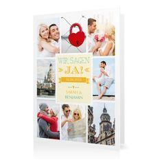 Hochzeitseinladung Mosaik in Citron - Klappkarte hoch #Hochzeit #Hochzeitskarten #Einladung #Foto #kreativ #modern https://www.goldbek.de/hochzeit/hochzeitskarten/einladung/hochzeitseinladung-mosaik?color=citron&design=35&utm_campaign=autoproducts