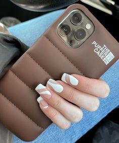 Girly Phone Cases, Diy Phone Case, Iphone Phone Cases, Nail Polish, Dream Nails, Cute Cases, Cute Acrylic Nails, Coque Iphone, Iphone Accessories