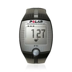 Polar FT1 Heart Rate Monitor - One by Polar. $42.50. Display Indicators: Heart Rate, Calories Burned, Clock, Daily Workout Memory, Continuous Heart Rate. Includes: Chest Strap. Protective Qualities: Water Resistant. Used For: Personal Fitness, Fitness Training, Recreational Rider, Walking, General Fitness. Features: Target Zone Alarms, LCD Display, High and Low Limit Alarms, Wireless, Backlit Display. A great watch for recreational exercisers who want an easy start...