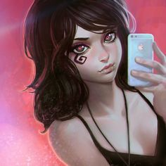 Death selfie by KR0NPR1NZ.deviantart.com on @deviantART