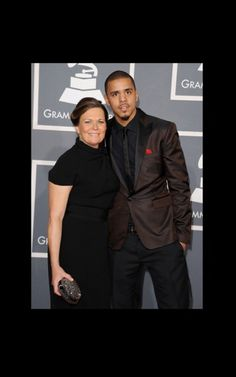 Rapper J. Cole and mom Kay
