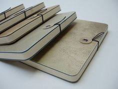 Parchment notebooks | elbel libro bookbinding
