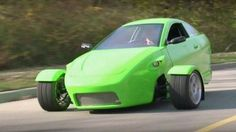 Elio - 3-wheeled car (motorcycle, actually) goes 672 miles on one tank of gas