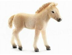 The Fjord Horse Foal from the Schleich horse collection - Discounts on all Schleich Toys at Wonderland Models.