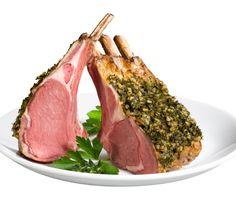 Herb-Crusted Rack of Lamb Thomas Keller Duck Recipes, Lamb Recipes, Dinner Recipes, Cooking Recipes, Roast Rack Of Lamb, Crusted Rack Of Lamb, Oven Roast Beef, Steak Au Poivre, Crusted Tilapia