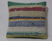 18x18 cream knitted throws green pillows for couch blue home interior bedding…