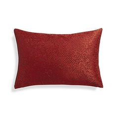 Twinkle Red 18x12 Pillow  | Crate and Barrel