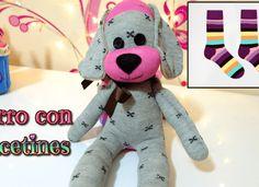 Video - ako ušiť psíka z ponožky, Videopostupy, fotopostup - Artmama. Cute Animals Images, Cute Cartoon Animals, Sock Animals, Cartoon Pics, Cute Baby Animals, Sock Crafts, Easy Crafts, Sock Dolls, Rag Dolls