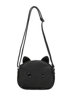 Loungefly Black Cat Face Character CrossbodyLoungefly Black Cat Face Character Crossbody,