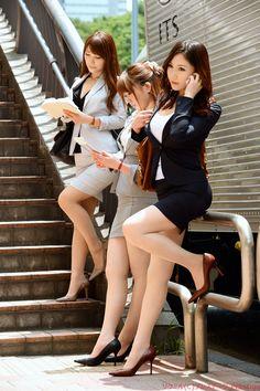 Yui_oba Nude - Office Girls Wallpaper