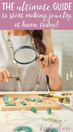 Learn how to make your own jewelry with this helpful resource, including handmade jewelry ideas, jewelry kits, and jewelry suppliers. via @Linkouture #LifestyleJewelry