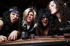 Spandex Nation is the ultimate '80s hair and metal tribute band.