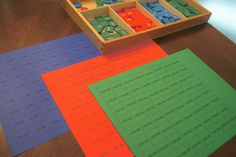 """Making Montessori Ours"": Stamp Game Extension to Millions - Free Printables Included"