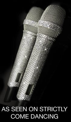Dj Equipment Collection Here Njs Silver Crystal Bling Dazzling Effect Karaoke Party Home Microphone Mic Beautiful And Charming Other Karaoke Entertainment