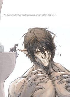 Shingeki no Kyojin/Attack on Titan - Carla and Eren Jaeger Attack On Titan Meme, Attack On Titan Ships, Tokyo Ghoul, Eren E Levi, Fan Art Anime, Familia Anime, Accel World, Gekkan Shoujo, Ereri