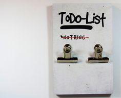 ClipClip Memobrett | ToDo-List von claus-peter-2 via dawanda.com
