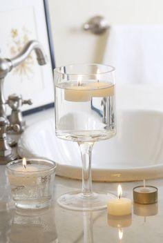 Las #velas son siempre una buena opción para sumar #calidez a un ambiente. #candles #Deco improvisada