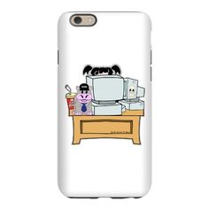Abby and Bert NCIS iPhone 6 Slim Case #iPhone6 #NCIS #Abby #Bert  Search my Profile NCIS to see all my designs This design click here  -  http://www.cafepress.com/dd/58491632