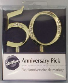Th Anniversary Cake Toppers Michaels