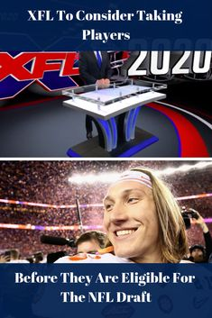 True freshman Clemson Quarterback Trevor Lawrence could be one of the new XFL players. XFL is considering allowing college players before they enter the NFL. Clemson Quarterback, Nfl, Nfl Football