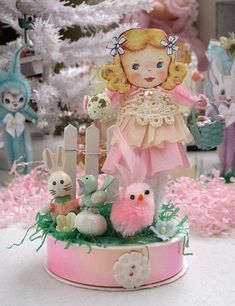 Vintage Inspired Easter keepsake