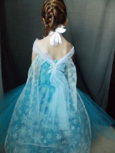 "elsa dresses | Queen Elsa ""Frozen""Inspired Tutu Dress"