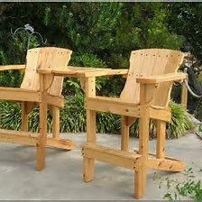 Tall Deck Chairs For Beach House Adirondackchairs Outdoor Furniture Plans Wooden Patio Chairs Rustic Deck