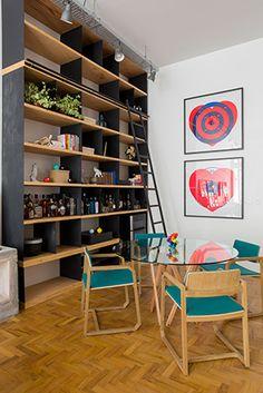 apto. são paulo | projeto: kikacamasmie+arq | após reforma, este apartamento ganhou uma configuração inusitada e soluções arquitetônicas inovadoras