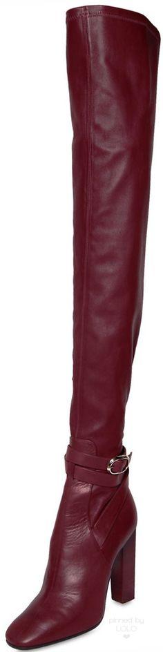 Emilio Pucci 120MM Stretch Nappa Leather Boots | LOLO❤︎
