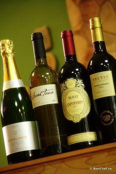 Wine pairing: 1. Castellroig Cava Brut 2011, Sabate i Coca (Catalonia, Spania); 2. Oscar Tobia Reserva Blanco 2009 (Rioja, Spania); 3. Campofiorin Rosso del Veronese 2008, MASI (Valpolicella, Italia); 4. Nectar Pedro Ximenez, Gonzales Byass (Jerez, Spania).