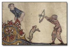 Medieval mooning incident: manuscript vignette found in the wonderful Liber Floridus database. Medieval Games, Medieval Books, Medieval Life, Medieval Manuscript, Medieval Art, Illuminated Manuscript, Renaissance Art, Filthy Jokes, Ancient Words