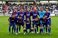 EQUIPOS DE FÚTBOL: HUESCA contra Real Valladolid 14/04/2012