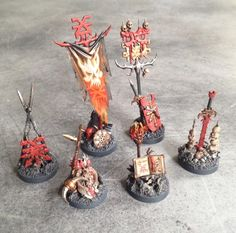 More Khorne markers for AoS - Or more unholy shrines, depending on how you see the universe.