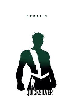 Quicksilver (Avengers): Erratic by Steve Garcia (Marvel) Comic Movies, Comic Book Characters, Comic Character, Comic Books Art, Marvel Comics, Marvel Heroes, Marvel Avengers, Avengers Room, Superhero Silhouette